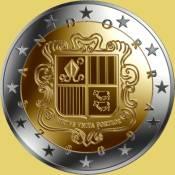 5 2 et 1 euro cent une t te d 39 isard et un aigle royal en vol. Black Bedroom Furniture Sets. Home Design Ideas